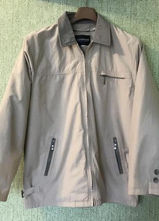 Куртка lionado утеплена підкладкою, вітровка, 56 розмір, ветровка