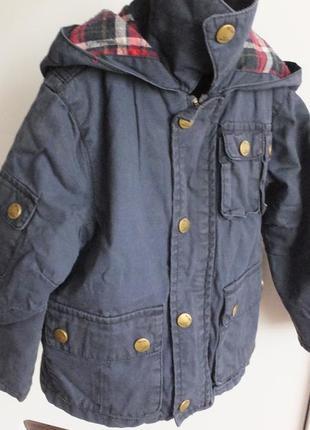 Демисезонная с подстежкой / зимняя куртка zara kids размер 98 ...