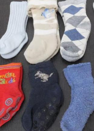 8 пар за 50 грн теплые носочки mothercare махровые носки на 3 ...