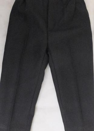 Штаны классические черные брюки школьная форма разм. 104 на 4 ...