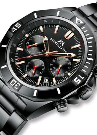 Наручные часы Megalith 8206M All Black