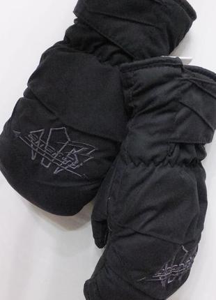 Зимние термо перчатки energy варежки для сноуборда лыж саней р.8