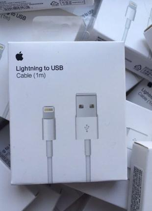 Кабель Lightning to USB Cable (1m) Original Assembly Iphone Apple