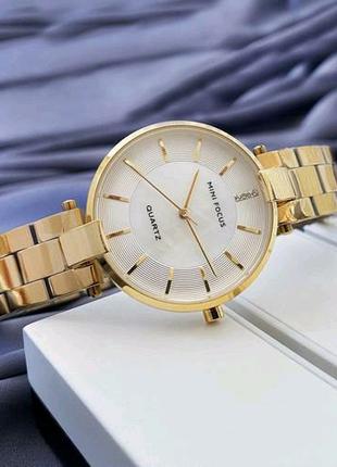 Наручные часы Mini Focus MF0224L Gold-White