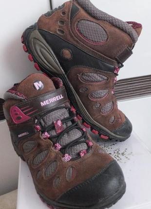 Трекинговые мембранные термо ботинки merrell сша оригинал раз....
