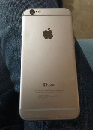 IPhone 6 16 gb Space Gray Neverlock