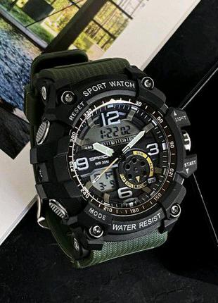 Наручные часы Sanda 759 Green-Black