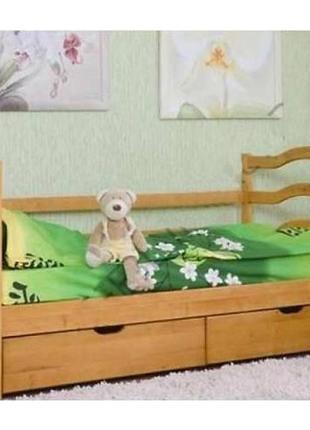 С ящиками и матрасами двухъярусная кровать София.