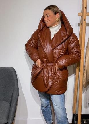 Куртка палатка тз эко-кожи