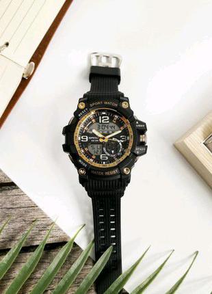 Наручные часы Sanda 759 Black-Gold