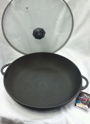 Чугунная сковорода жаровня.