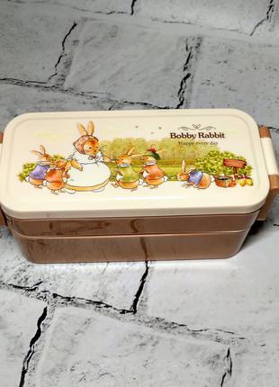 Ланчбокс Зайчики кролики, ланч-бокс, контейнер для еды