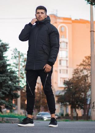 Зимняя куртка парка haipp stark черная