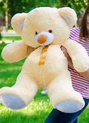 Плюшевый медвежонок 1метр, желтый