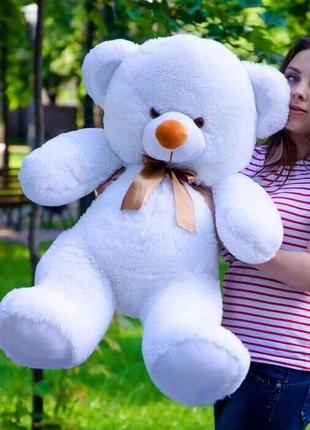 Плюшевый медвежонок 1метр, белый