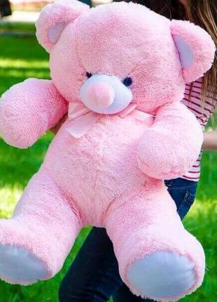 Плюшевый медвежонок 1метр, розовый