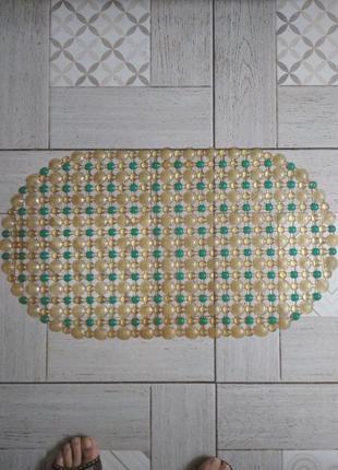 Массажный коврик на присосках в ванную или на сиденье машины