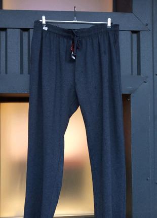 Брюки штаны мужские тонкие однотонные 100%коттон большой размер