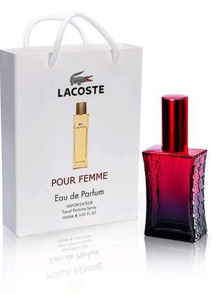 Lacoste Pour Femme (Лакоста Пур Фамм ) в подарочной упаковке 50 м