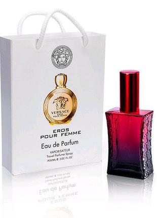 Versace Eros Pour Femme (Версаче Эрос пур фем) в подарочной упако