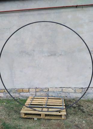 Арка круглая для фотозоны свадебная