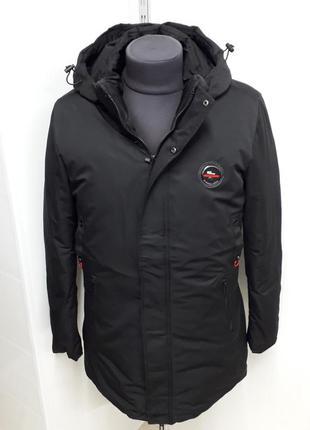 Куртка зимняя длинная
