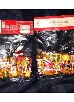Распродажа! Рождественский шоколадный набор Мишек Германия