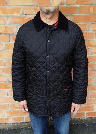 Barbour liddesdale куртка стеганка оригинал (s-m)