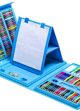 Детский набор для рисования и творчества в кейсе 208 предметов