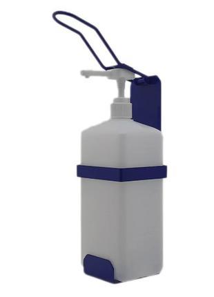 Локтевой дозатор c 1л емкостью SK EDW1К WB синий RAL 5002