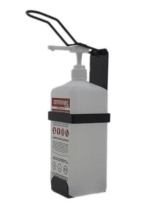 Локтевой дозатор c антисептиком 1л SK EDW1К WS чёрный