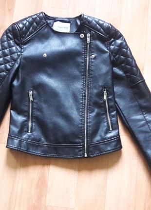 Куртка из экокожи, PUII&BEAR, размер S