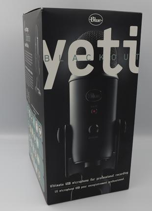 Микрофон Blue Microphones Yeti (Blackout), Blue Yeti, В Наличии!!