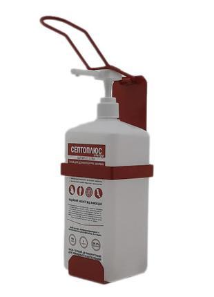 Локтевой дозатор c антисептиком 1л SK EDW1К WS красный