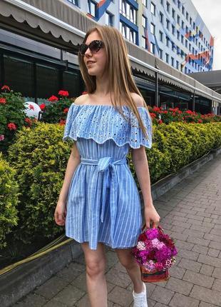 Платье комбинезон с вышивкой zara original