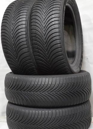 225 55 17 Michelin Alpin 5 б.у Зима Замена: 215/60/17 235/50/17