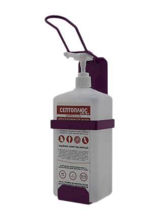 Локтевой дозатор c антисептиком 1л SK EDW1К WS фиолетовый