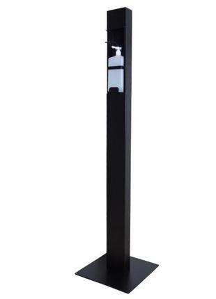 Напольный локтевой дозатор SK EDF1K 1 литр черный RAL 9005