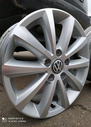 Диски литые оригинал Volkswagen Golf Jetta Touran Caddy R16(5*112