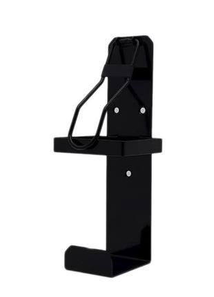 Локтевой дозатор для антисептика без емкости EDW1К черный RAL 900