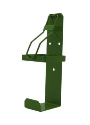 Локтевой дозатор для антисептика без емкости EDW1К зеленый