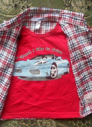 Рубашка обманка для мальчика