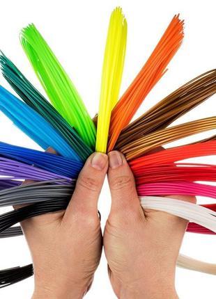 PLA пластик для 3d-ручки Набор 10 цветов