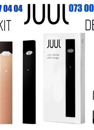 POD системаСтарт-набор Оригинал из USA! JUUL+ подарок (4 КАРТР...