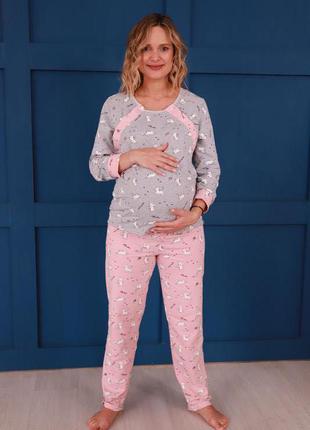 Пижама для беременных пижама для сна и кормления