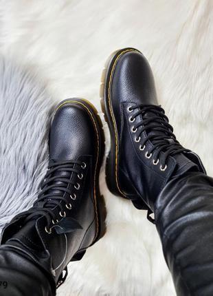 Ботинки кожаные ❄️ 279