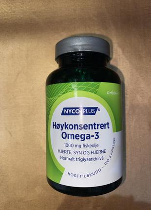Omega-3 в капсулах -  Рыбий жир из Норвегии