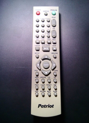 Пульт ДУ для DVD Patriot