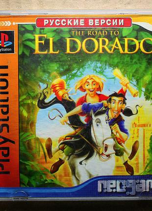 Dreamworks's Gold & Glory: The Road to El Dorado Sony PlayStation