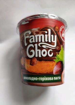 Шоколадно - фундукова паста Family Choc 400 г